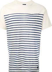 Striped T Shirt Men Cotton S, Nudeneutrals