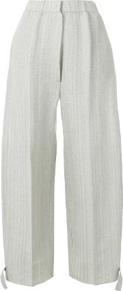 Flared Design Trousers