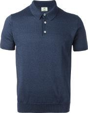 Slim Fit Polo Shirt Men Cotton 50, Blue