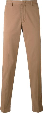 Classic Chinos Men Cottonspandexelastane 50, Brown