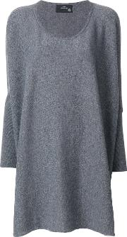 Boule De Neige Knitted Sweater Women Cashmere One Size, Grey