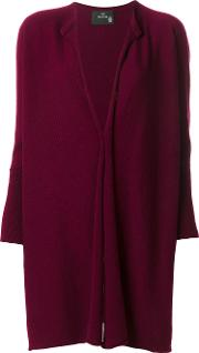Boule De Neige Oversized Cardigan Women Cashmere One Size, Red
