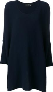 Boule De Neige Oversized Sweater Women Cashmere One Size, Blue