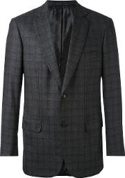 Check Blazer Men Cuprowool 52, Grey