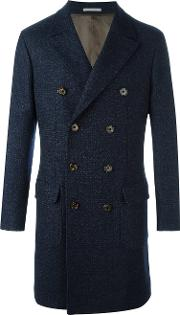 Double Breasted Coat Men Cuprocashmerewool 54