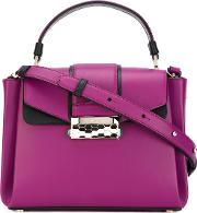 Serpenti Forever Tote Women Calf Leather One Size, Women's, Pinkpurple