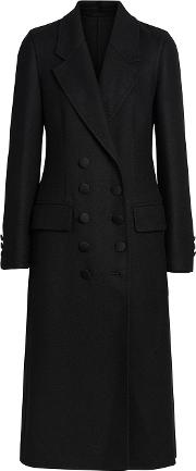 Double Breasted Cashmere Tailored Coat