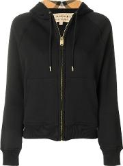 Hooded Zipped Cardigan