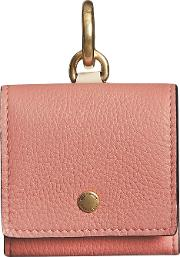Small Square Leather Coin Case Charm
