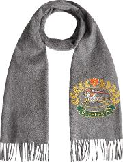 The Classic Cashmere Scarf With Archive Logo