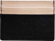 Two Tone Leather Card Case