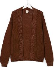 Caffe' D'orzo Open Front Knitted Cardigan Kids Cotton 16 Yrs