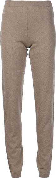 Cashmere Sweat Pants Women Cashmere S, Brown