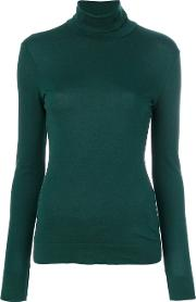 High Neck Knitted Blouse