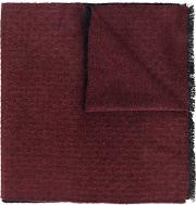 Canali Two Tone Scarf Men Silkcashmere One Size, Brown