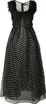 Polka Dot Organza Dress