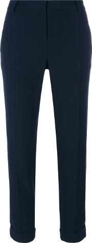 Cropped Cigarette Trousers