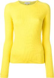 Fina Jumper Women Wool M, Yelloworange