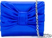 Draped Bow Clutch