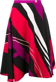 Graphic Print Skirt