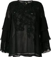 Sequin Embroidered Blouse