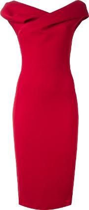 Sculptured Dress Women Polyamidepolyesteracetate 42, Women's, Red