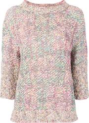 Boucle Knitted Blouse