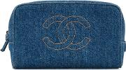 Cc Logos Cosmetic Case