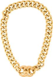Cc Turnlock Choker Necklace