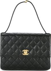 Flat Quilted Tote