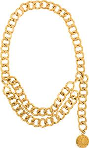 Layered Oversize Chain Necklace