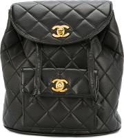 Turnlock Quilted Rucksack