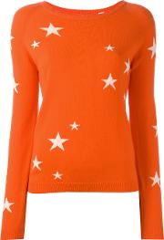 Cashmere Star Jumper Women Cashmere Xl, Yelloworange