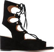 'foster' Wedge Sandals Women Leather 38, Black