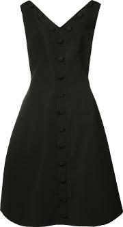 Button Front Pleated Dress