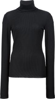 Roll Neck Jumper Women Polyester 4