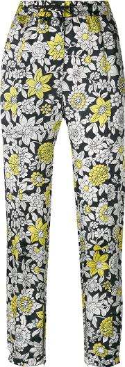 Pita Trousers Women Cuproviscose 38, Black