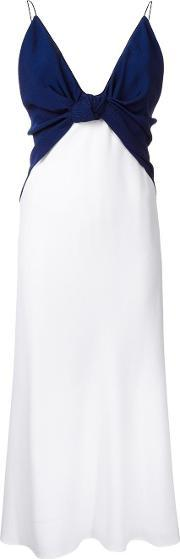 'knotted Cami' Dress Women Polyesterspandexelastane 10