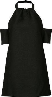 Cmeo Cold Shoulder Minidress Women Polyester M