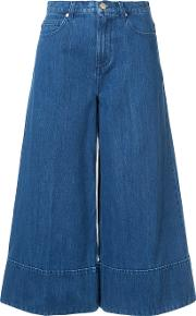 Cropped Wide Legged Jeans