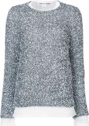Comme Des Garcons Textured Jumper Women Nylonpolyester S, Grey