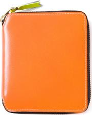 'new Super Fluo' Wallet Unisex Calf Leather One Size, Yelloworange