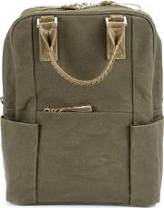 Woven Handles Bozy Backpack
