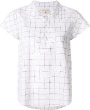 Cotelac Checked Shortsleeved Blouse