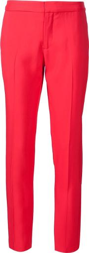 'pavo' Trousers Women Viscose 6, Red