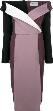 Colour Block Fitted Dress