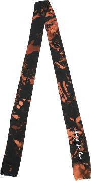Slim Printed Scarf Men Cupro One Size