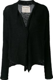 Kip Cardigan Women Cottonlinenflax S, Black