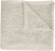 'mustang' Solid Nomad Scarf Unisex Cashmere One Size, Grey