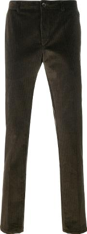Corded Tailored Trousers